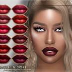 Frs Lipstick N241 By Fashionroyaltysims