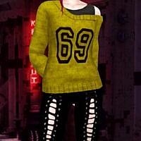 Bgc Sweater Off Shoulder