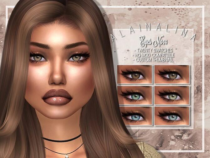 Sims 4 Eyes No14 at AlainaLina
