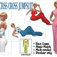 Hfo's Criss Cross Jumpsuit