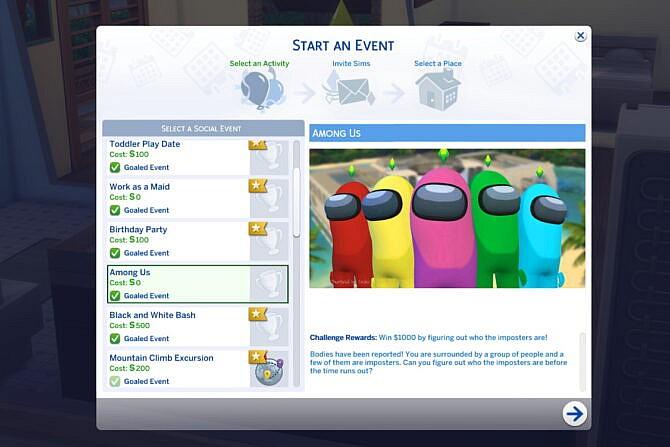 Sims 4 Among Us Mod at KAWAIISTACIE