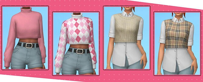 Sims 4 THE BUTTERFLY COLLECTION at Vikai
