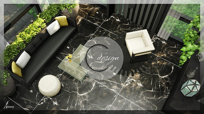 Marble Tiles (glossy)