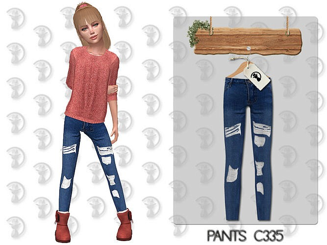 Pants C335 By Turksimmer