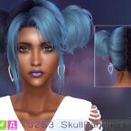 J253 Skullpanda Sims 4 Hair (p) At Newsea Sims 4