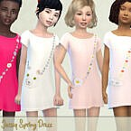 Jersey Spring Dress By Pelineldis