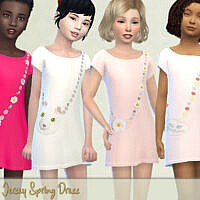Jersey Spring Dress By Pelineldis