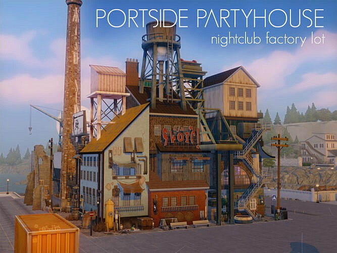 Portside Partyhouse Nightclub Factory Lot