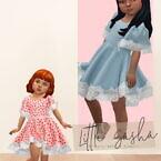 Little Sasha Dress At Daisy Pixels