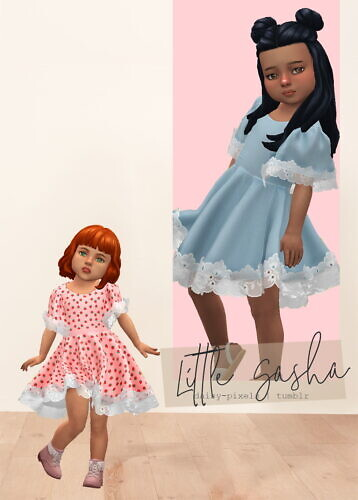 Little Sasha Dress At Daisy Pixels