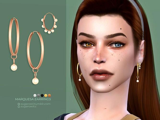 Marquesa Earrings By Sugar Owl
