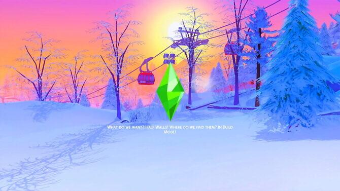 Sims 4 Mt. Komorebi Loading Screens at Katverse