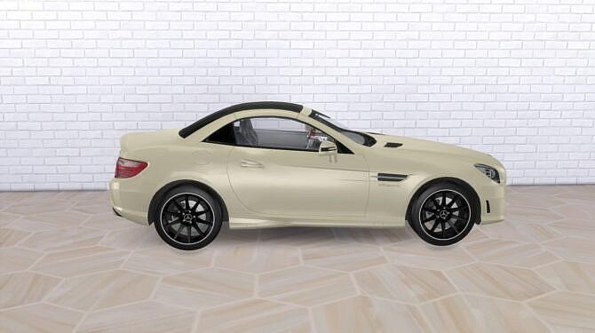Sims 4 2012 Mercedes Benz SLK55 AMG at Modern Crafter CC