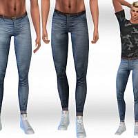 Slim Fit Jeans Men By Saliwa