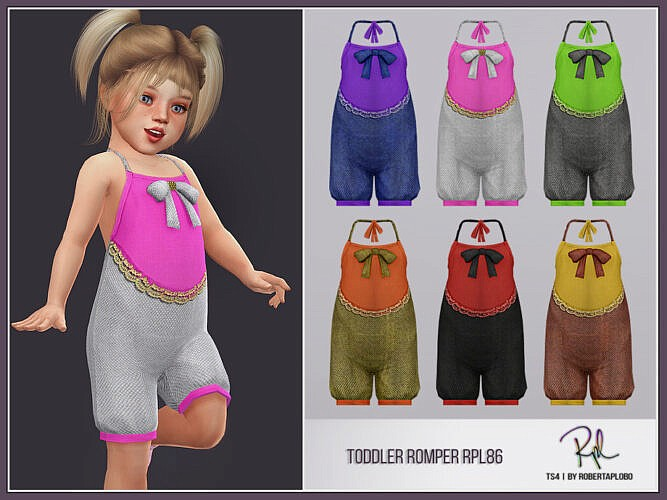 Toddler Romper Rpl86 By Robertaplobo