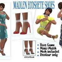 Madlen's Ecoshete Shoes At Sims4sue