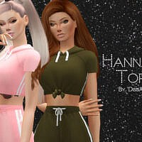 Hannah Top By Dissia
