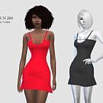 Short Dress N 280 By Pizazz