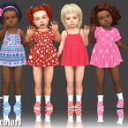 Nitropanic Toddler Dress Recolors At Annett's Sims 4 Welt