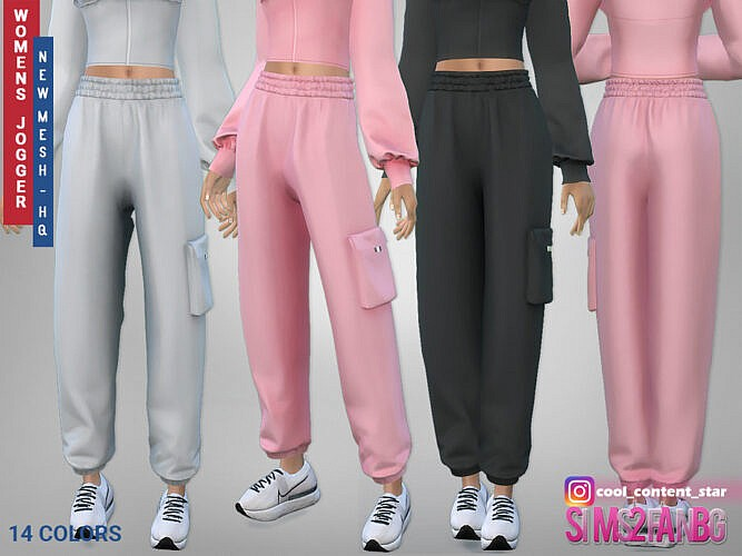Female Joggers 415 By Sims2fanbg
