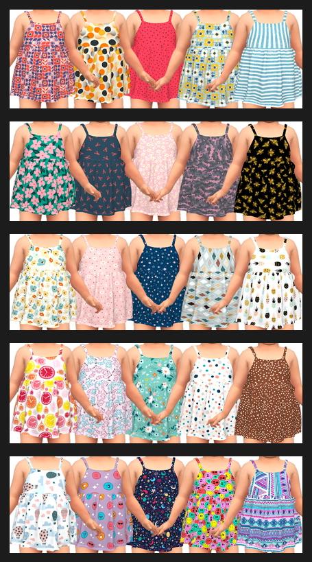 Sims 4 NitroPanic Toddler Dress Recolors at Annett's Sims 4 Welt