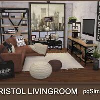Bristol Living Room At Pqsims4