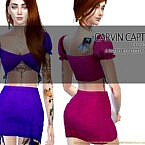 Rose Skirt By Carvin Captoor