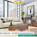Winter Abode Entertaining Room By Lhonna