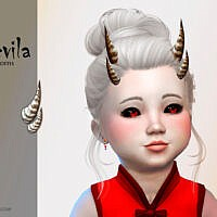 Devila Toddler Horns By Suzue