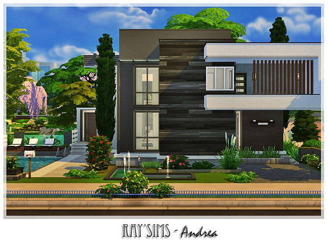 Andrea House By Ray_sims