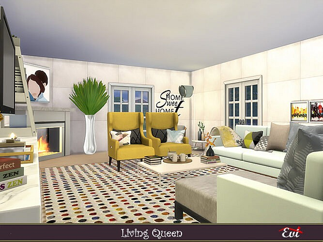 Living Queen Living Room By Evi