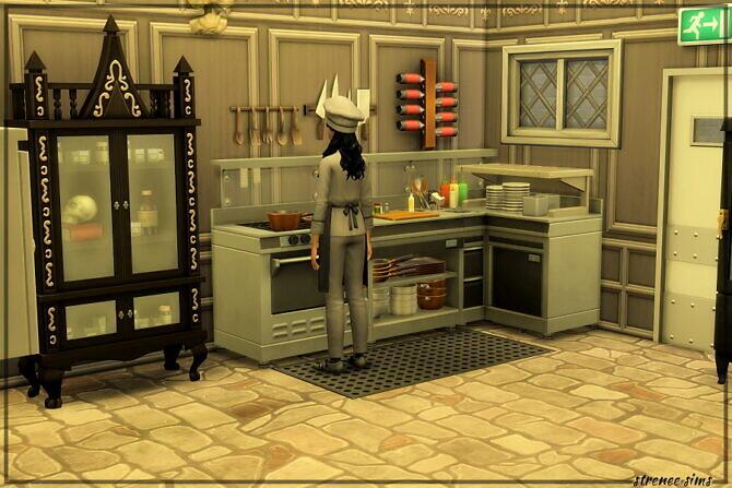 Sims 4 Prescott Manor Restaurant at Strenee Sims