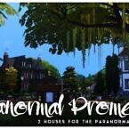 Paranormal Promenade Two Houses