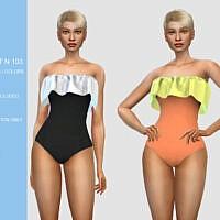 Swimsuit N103 By Pizazz