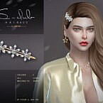 3 Flowers Hairpin 202106 By S-club Ll