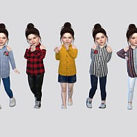 Ava Blouse Toddler By Mclaynesims