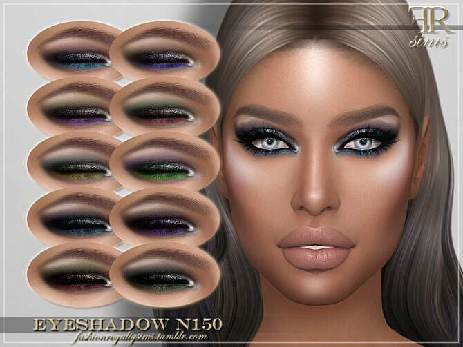 Sims 4 FRS Eyeshadow N150 by FashionRoyaltySims at TSR