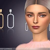 Ophelia Drop Earrings By Feyona