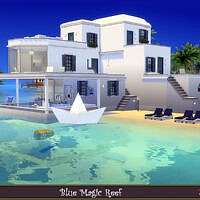 Magic Blue Reef Home By Evi