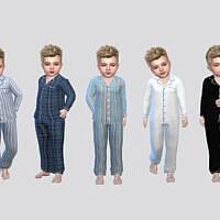 Fullbody Sleepwear Toddler Boys By Mclaynesims