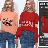 Slit Sleeve Sweater By Sims House