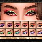 Eyeshadow #101 By Jul_haos
