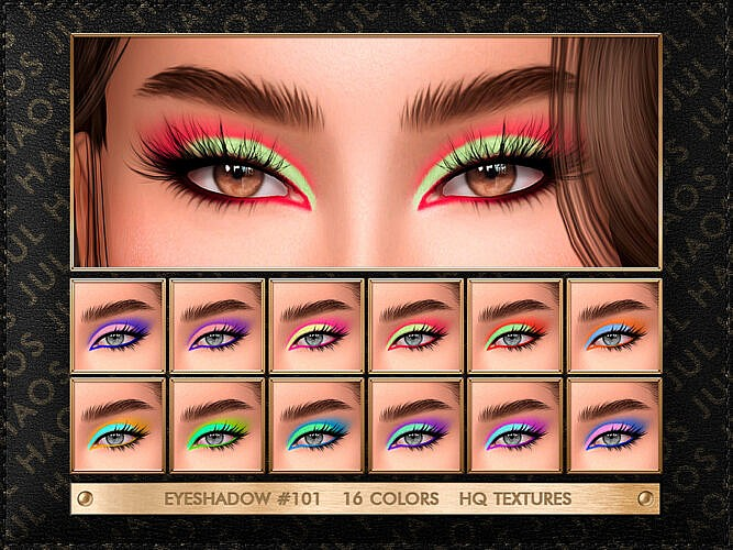 Eyeshadow #101 By Jul_haos