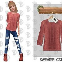 Sweater C334 By Turksimmer