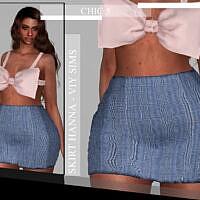 Chic V Skirt Hanna By Viy Sims