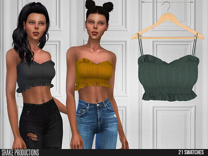 Sims 4 616 Top by ShakeProductions at TSR