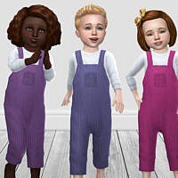 Toddler Corduroy Dungarees By Infiniteplumbobs