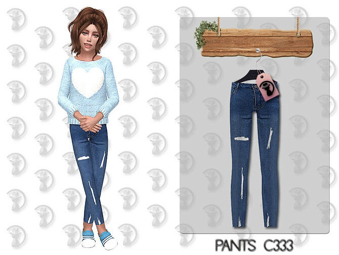 Sims 4 Pants C333 by turksimmer at TSR