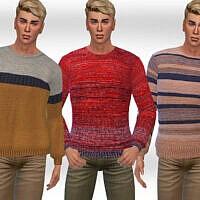 Round Neck Pullovers M By Saliwa
