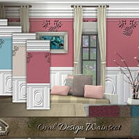 Oval Design Wainscot By Emerald